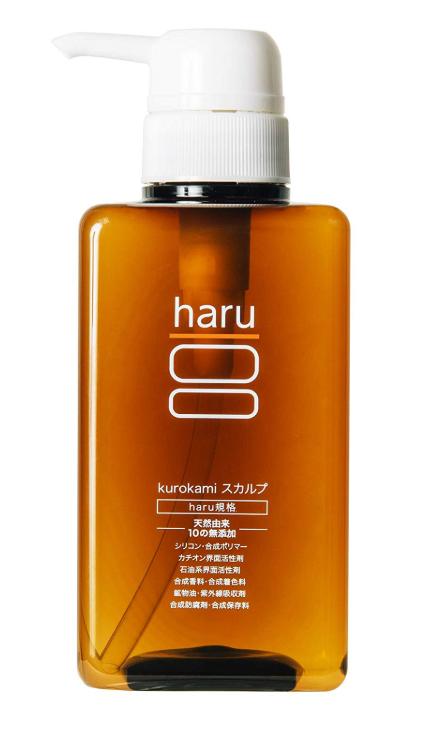 haru黒髪スカルププロシャンプー