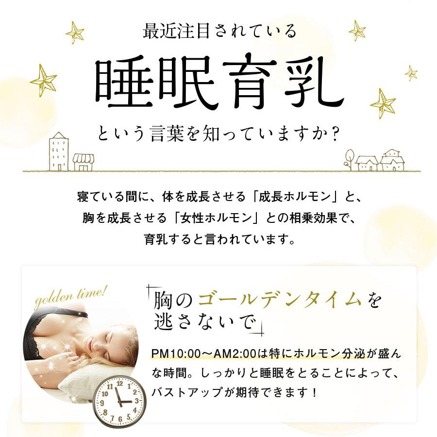 【amazon】9位 寝ている間に優しく寄せて集中育乳「夜寄るブラ+plus」_2