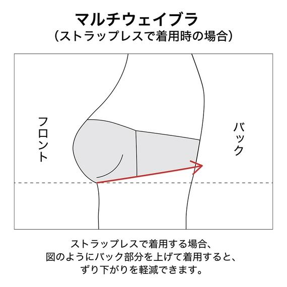 【ユニクロ】ワイヤレスブラ(ビューティーライト・マルチウェイ)+EC_4