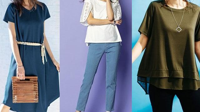 暑い夏こそファッションで涼しく♪冷感素材を使った大人上品なコーデ5選