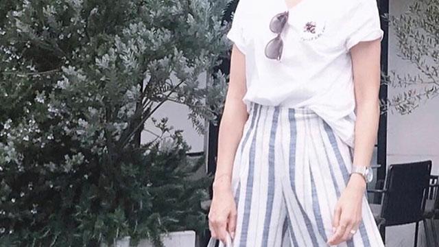 白Tは1枚あると便利♪スカート・パンツに合わせやすい大人可愛いシンプルコーデ6選