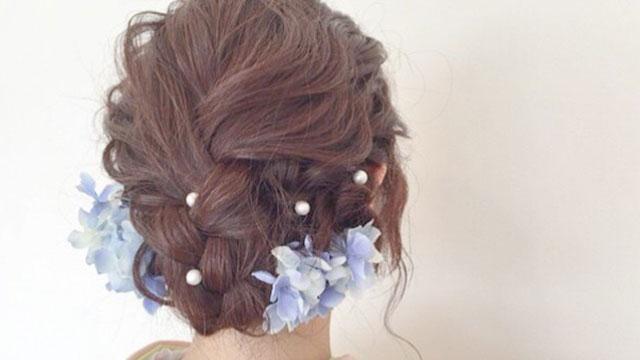 和風結婚式に憧れる♡白無垢・色打ち掛けなど和装に似合うヘアアレンジ集