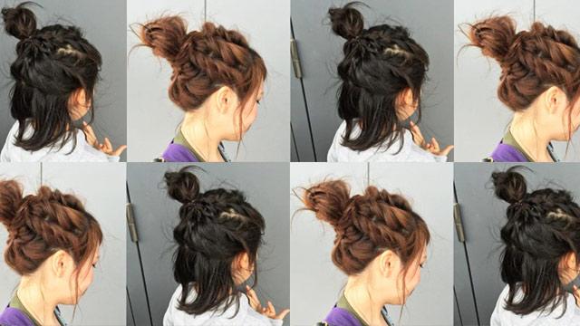 女の子ママ必見☆春のお出かけに使えるお揃いヘアアレンジ5選
