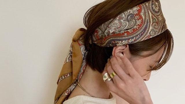 """【秋にも◎】ターバン・スカーフアレンジで""""大人かわいいヘア""""を手に入れる♡"""