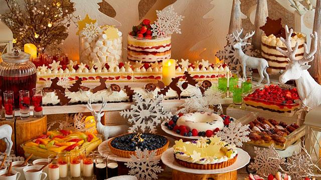 写真映えするクリスマススイーツ♡家族や恋人と楽しむ京王プラザホテルのクリスマスメニュー