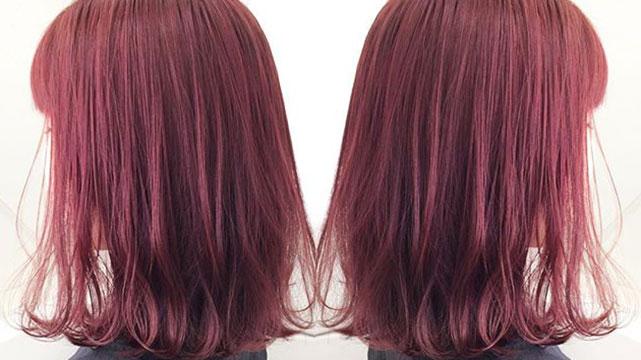 ブリーチなしの派手髪を実現♪バージンヘアでもしっかり入る色3選