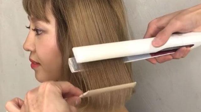 ヘアアイロンで髪の毛傷めてない?ヘアアイロンの適正温度を知って髪のダメージを減らそう♪