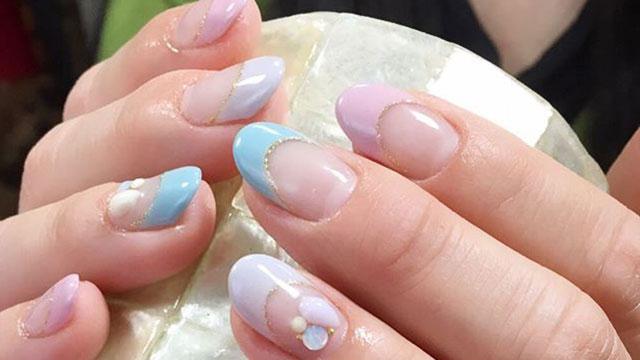ミルキーカラーが可愛い♡指先から春を楽しむにはパステルカラーネイルがぴったり!