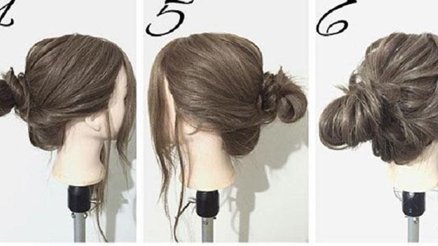 花粉症シーズンはアップスタイルにするべし!こなれ感のある春のまとめ髪アレンジ4選