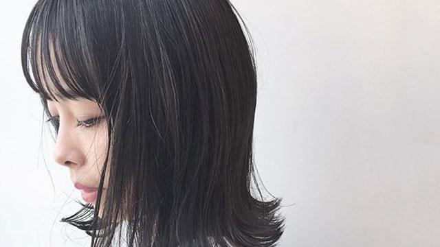 透明感が欲しいならこのカラー!ブリーチなしのブルーブラックにしたくなるヘアスタイル特集