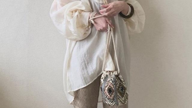シアーシャツで一気に春スタイル♡透け感が春らしいコーデ13選