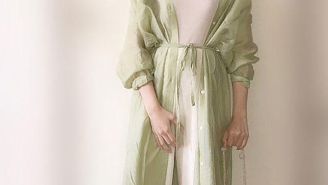 透け感が女性らしさを演出♡シアーシャツを使ったおしゃ見えコーデ5選