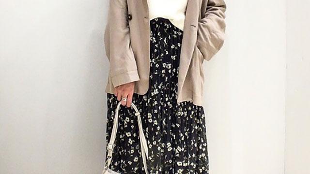 カジュアルにも大人っぽくもなれる♪花柄スカートで大人可愛いコーデ5選