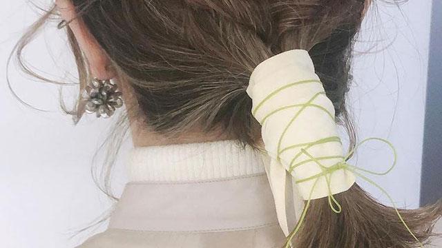 """""""紐""""や""""リボン""""でこなれヘア♡簡単かわいいアレンジ9選"""