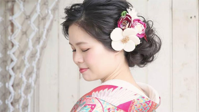 和装派のプレ花嫁さんへ!大人女性の魅力UP♡上品和装ウェディングヘア10選
