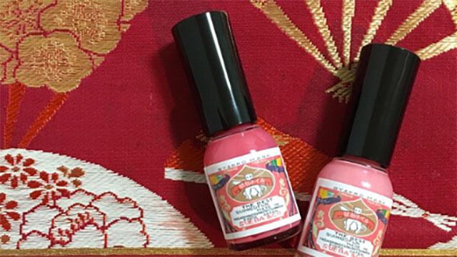【速乾で楽々オフ】京都生まれの胡粉ネイル!爪にも優しい京ネイルを楽しんで♡