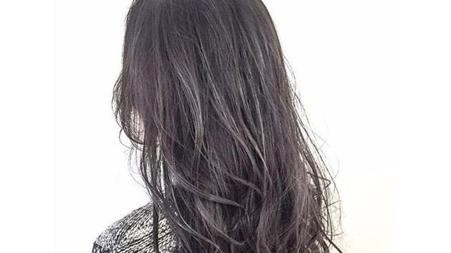 オフィスでも映える透け感ダークカラー♡大人可愛いヘアカラー6選
