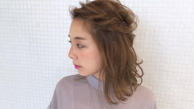 「前髪なし」で大人っぽさを演出♡大人キレイな魅力を引き出すヘアカタログ