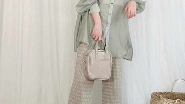春夏に着たい透明感のあるシースルー♡トレンドのシースルーシャツコーデ6選