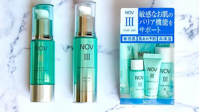 敏感肌さんにぴったりのノブⅢシリーズ♡9/7に美容液とクリームがリニューアル発売!
