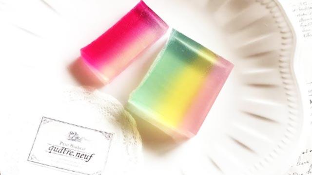 話題沸騰!プレゼントにぴったり♡可愛い宝石石鹸の作り方andアレンジアイディア