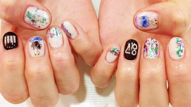 アートな5月nail