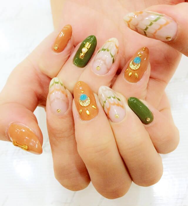 native American nail