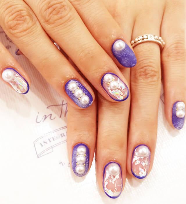 denim blue nail