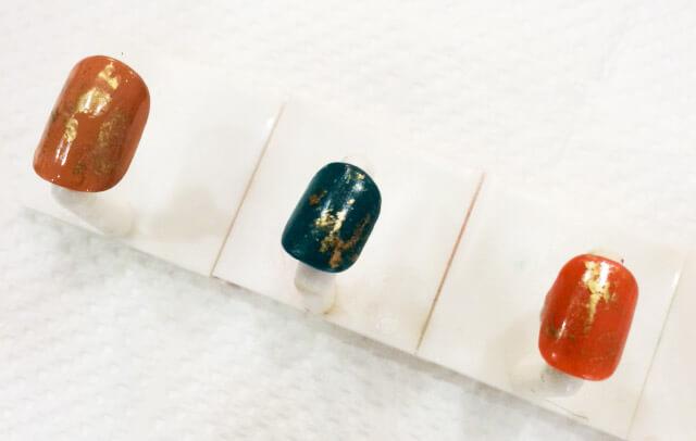 「秋らしいくすみ色のヴィンテージデザイン」の作り方_6