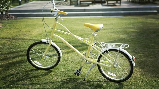 私の彼は自転車通勤