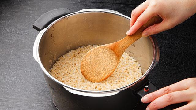 マクロビダイエットを成功させるための正しい玄米の炊き方
