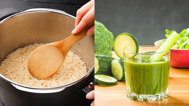ローフードと玄米菜食を組み合わせたデトックスダイエット