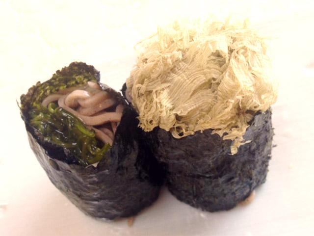 蕎麦海苔巻