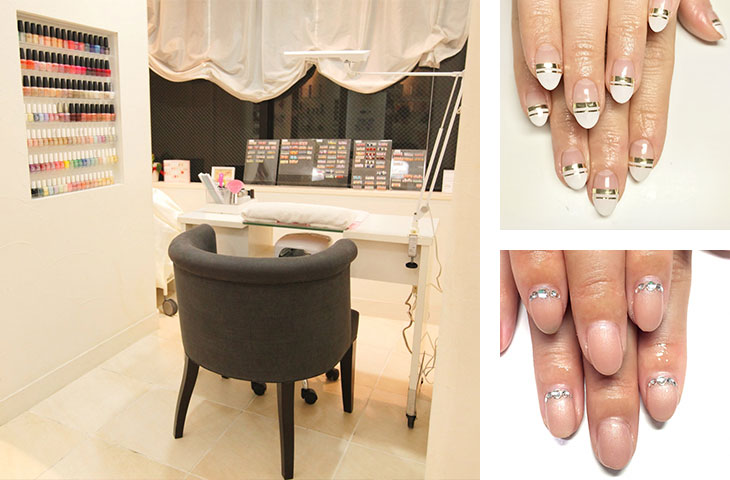 QUARTER RESORT nail