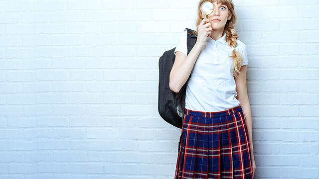 【慕われ度診断】あなたは高校生。片思いの相手が校則で禁止の場所に…どうする?