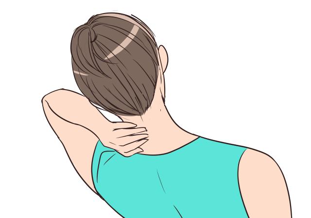 「スッキリ手軽な首もとマッサージ」の手順_5
