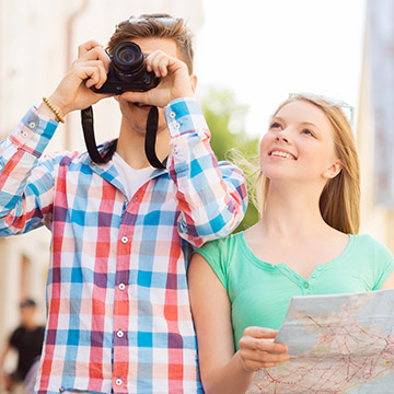 地図が読めない人も安心できる?方向音痴あるある!