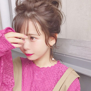 明日からマネしたい!ロブ・ロングヘアさんのヘアアレンジ②♡