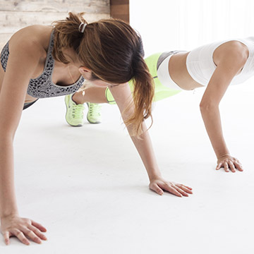 筋肉をつければ体のラインが整いながら太りにくく疲れにくい体に