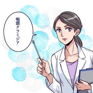 咽頭クラミジアってどういう症状?どうやってうつるの?