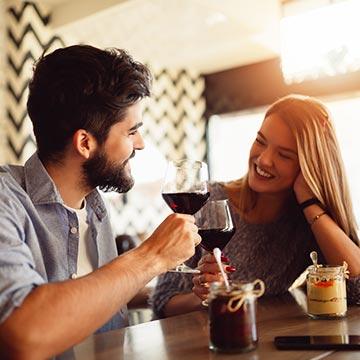 """パートナーがいるときに""""友人の男性""""と二人で飲みにいきますか?"""