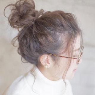 涼しげな抜け感が可愛い♡夏のヘアアレンジはメッシーバンがおすすめ!