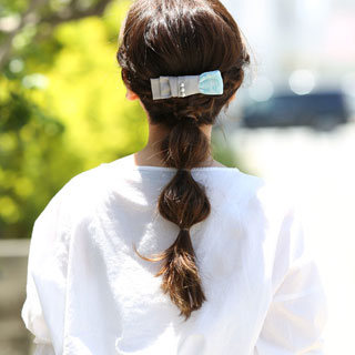 夏のまとめ髪にぴったり♡おしゃ見えする夏のヘアアクセサリー6選
