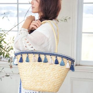 夏にぴったりのバッグがコーデの主役♡おしゃれに見せるバッグ特集