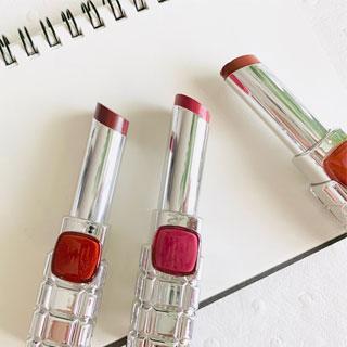 さりげなく魅惑的な唇に♡ロレアルパリの「シャインオン」くすみカラー3色レビュー