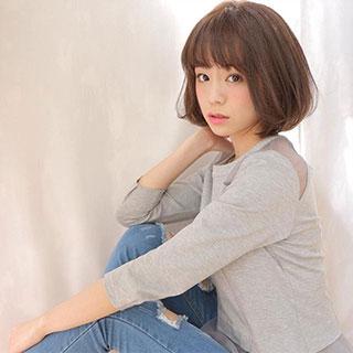 """""""前髪あり""""のモテ髪がポイント♡大人可愛いふんわりボブヘア7選"""
