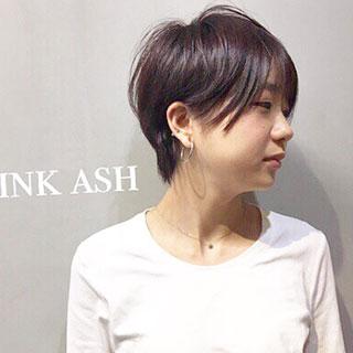 透明感のある髪色が人気♡ショートに似合うヘアカラー7選