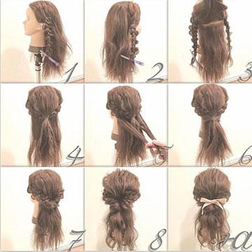 """気になる""""くせ毛""""を活かしても可愛い◎難しそうだけど意外と簡単なヘアアレンジ特集"""