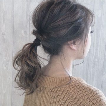 冬もやっぱりポニーテール♡モテ髪アレンジを徹底解説!