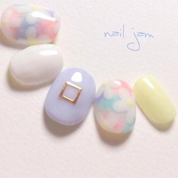"""春に人気の""""パステルカラー""""を大人っぽく♪ふんわり可愛いネイルデザイン8選"""